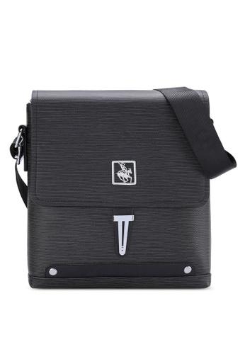 Swiss Polo black Swiss Polo Sling Bag SW912AC53MUSMY_1