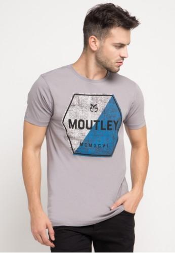 MOUTLEY grey Tshirt 4111 MO264AA0V6C7ID_1