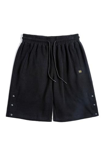 Twenty Eight Shoes black VANSA  Knitted Sports Shorts VCM-St2001228 46DE6AA5D14769GS_1