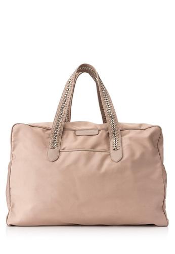 Stella Mccartney beige Pre-Owned Stella McCartney Falabella GO Travel Bag C360BAC944DFF7GS_1