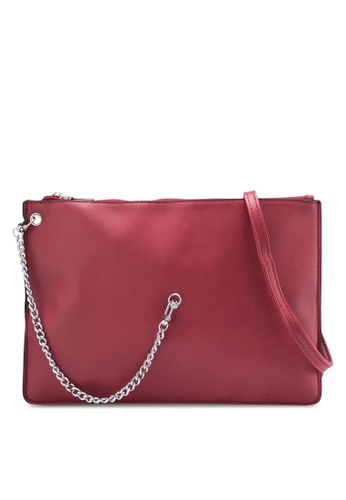 Something Borrowed red Side Chain Mini Double Pouch Bag 4F0B6ZZD806822GS_1