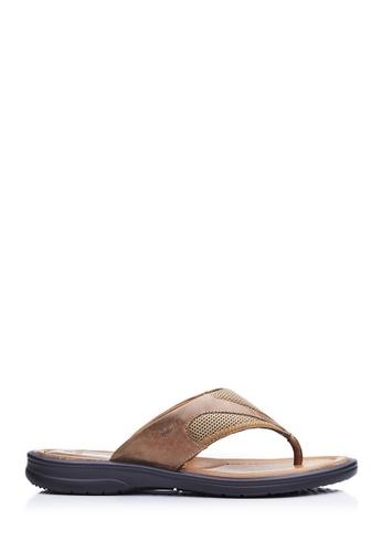 BONIA brown Men Brown Sandals AEFE4SH7827A34GS_1