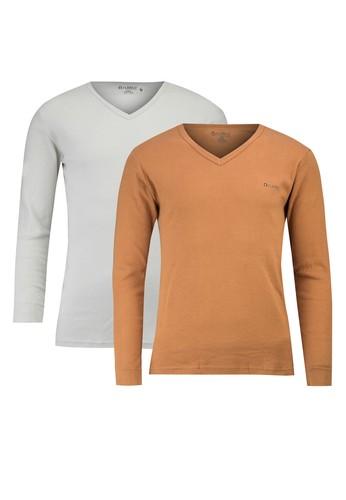 Kathmandu 二入素色長袖TEE, 服飾esprit hong kong 分店, T恤