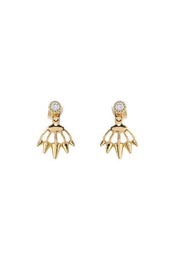 Wander Co Gold Gem Lash Earrings Wa415ac64vepmy 1