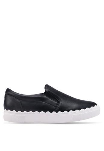 Something Borrowed 黑色 休閒懶人鞋 AF368SHA617C5FGS_1