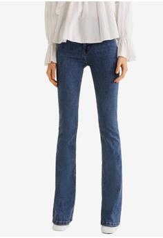 ccdb1efa92e Mango blue Flared Jeans FDA2BAA52965CAGS 1