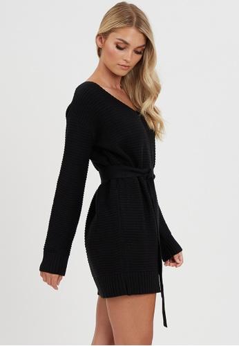 Calli black Jayda Jumper Dress 1726CAA9CB33C6GS_1