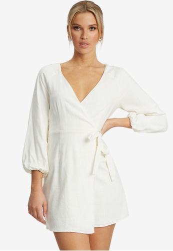 The Fated white Miranda Mini Dress 3C7ACAAE562465GS_1