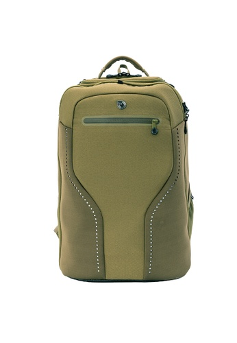 MUB green The Biarritz Deluxe Traveler - Regular - Olive 67A20ACD73A7E8GS_1