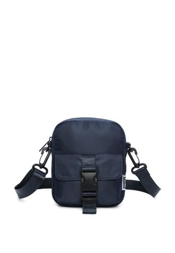 Milliot & Co. navy Hoga Sling Bag 8D909AC4B3D145GS_1