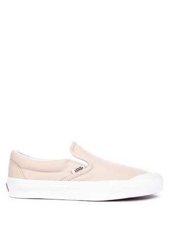 a9dad76836b Shop VANS Canvas Classic Slip-On 138 Sneakers Online on ZALORA ...