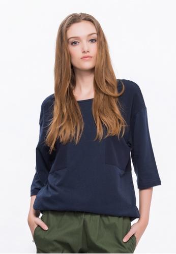 Alpha Style blue Jamari BF T-Shirt AL461AA0FVCWSG_1