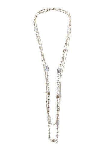 Red's Revenge white marquis gem long pearl necklace 8BA75ACA3E7CBDGS_1
