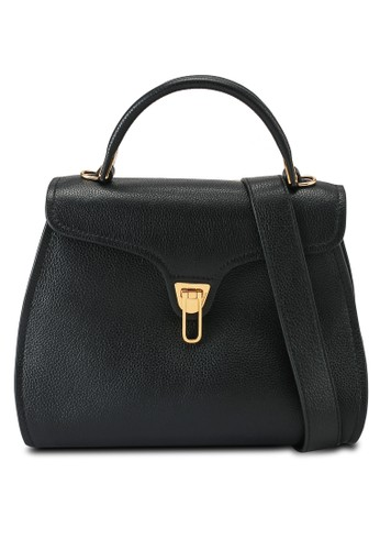 Coccinelle black Marvin Top-Handle Bag D7E4EACECAF76DGS_1
