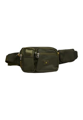 EXTREME Extreme Nylon waist bag casual chest bag travel adventure hiking fanny pack 85E43AC7B55B0FGS_1