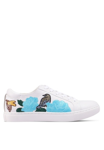 Kenneth Cole 白色 Kam Sneakers CCB27SHA02B376GS_1