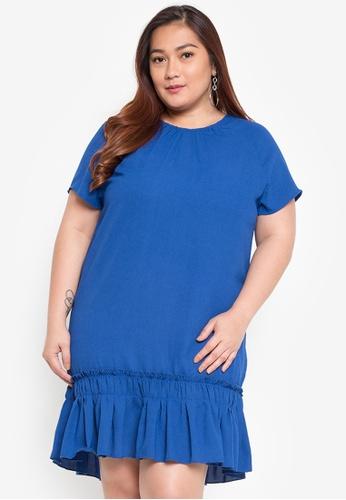 c872f4be8ee Shop Maldita X Plus Size Ruffled Dress Online on ZALORA Philippines