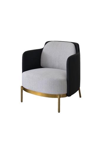 Chic Establishment grey Tokoname Arm Lounge Chair B6A0FHLEFCCB85GS_1