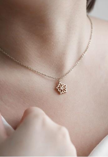 AEROCULATA Aeroculata Desember Fleur Necklace Birthflower Silver A4D7AAC75575F2GS_1