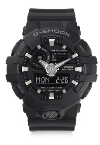 G-Shock black Male Analog Watches GA-700-1BDR 5A192AC14779A4GS_1