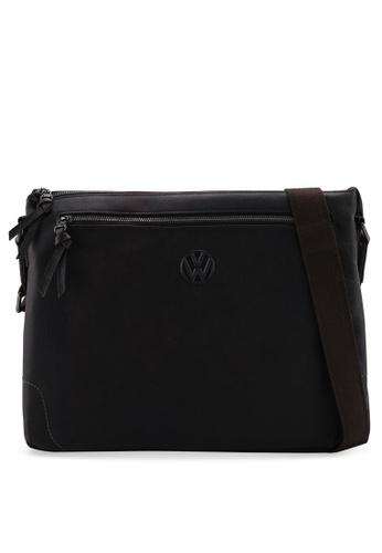 Volkswagen brown Leather Structured Bag 9B8F2AC0FD3AF9GS_1