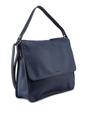 24d5043d8c26 Buy ESPRIT Faux Leather Shoulder Bag Online on ZALORA Singapore