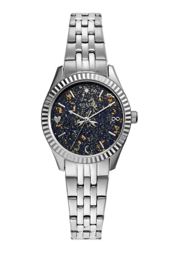 FOSSIL silver Scarlette Mini Watch ES5061 7ED75ACE04375CGS_1