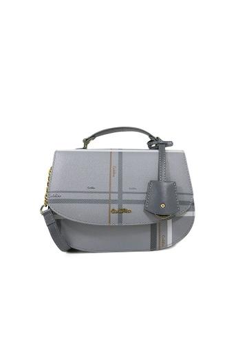 Carlo Rino grey Carlo Rino 0303881-005-28 Shoulder bag (Grey) B5584ACB8B576DGS_1