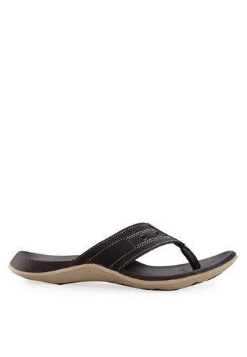 Homyped brown Raffi 03 Men Sandals HO842SH00ROTID_1