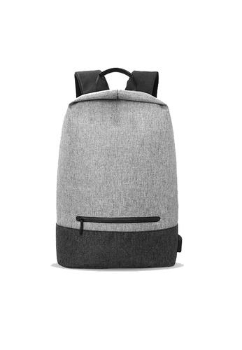 GreyPlus Classic Minimalist Backpack with USB port 15.6 inch GR720AC0FEI6SG_1