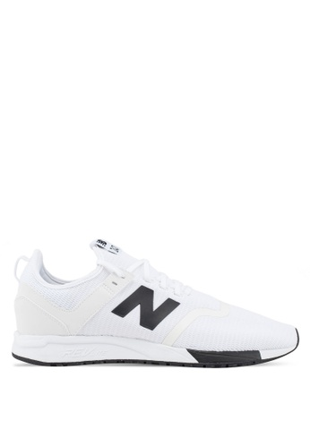 New Balance white 247 Lifestyle Essential Pack Shoes 1AD5CSHDC7F20CGS_1