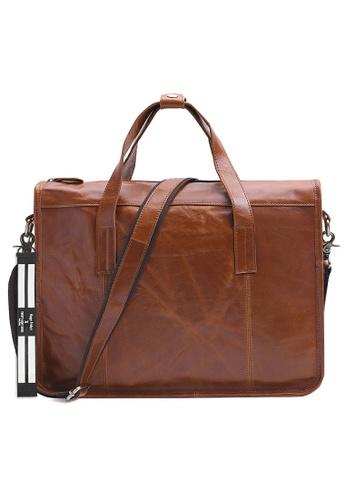 Twenty Eight Shoes Vintage Leather Business Briefcase QYE6495 03D49AC37D072CGS_1