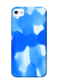 Surface Glossy Hard Case for iPhone 4, 4s