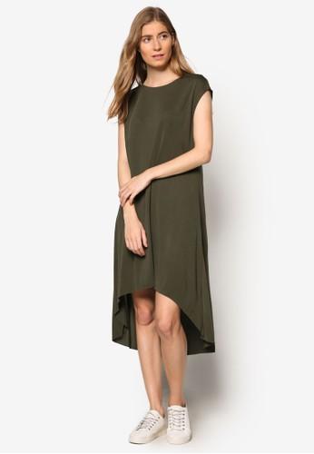 KN Mia 前高後低連身裙esprit 衣服, 服飾, 洋裝