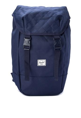 Herschel navy Iona Backpack HE958AC0JZ7MPH_1