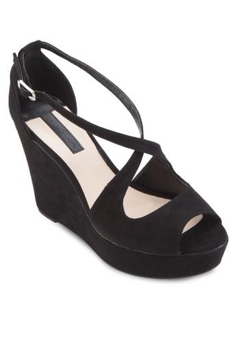 Pine 交叉包跟楔形鞋、 女鞋、 知性女強人DorothyPerkinsPine交叉包跟楔形鞋最新折價