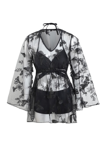 Its Me black (3PCS) Sexy Lace Bikini Swimsuit 6DE49USC28FECEGS_1