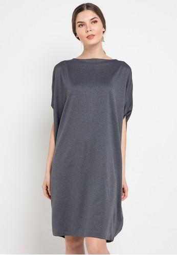 Noche grey Vera Dress F7EE9AADD2DEF5GS_1