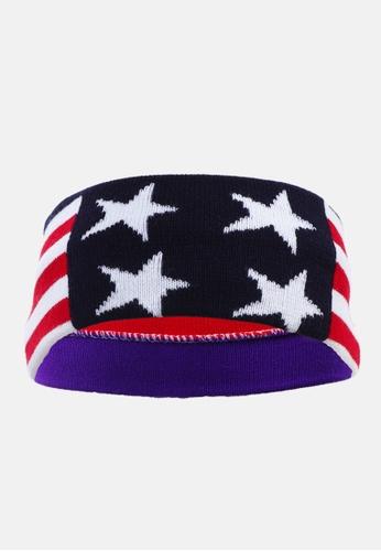 London Rag multi US Flag Head Band 21E5AACB014139GS_1