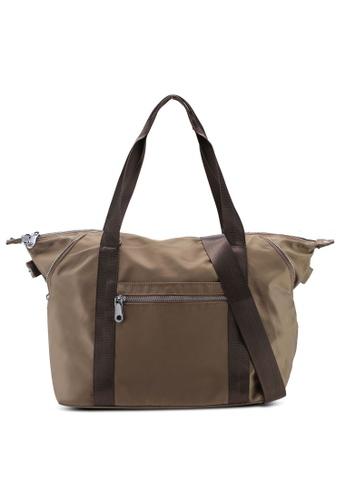 c83539ea88e Shop NUVEAU Lightweight Nylon Shoulder Bag Online on ZALORA Philippines