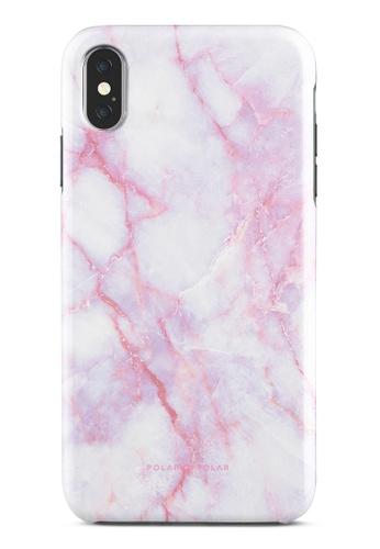 Polar Polar pink Pink White Dual-Layer Tough Case Glossy For iPhone XS Max E54B4ACDD4E970GS_1