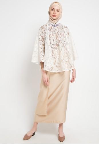 LUIRE by Raden Sirait white and brown Bdc-Afasia B81EEAAD37BD21GS_1
