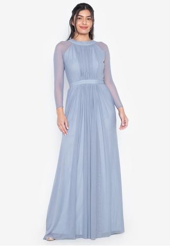 Tantease blue Verona Evening Dress FD0CEAACD73305GS_1