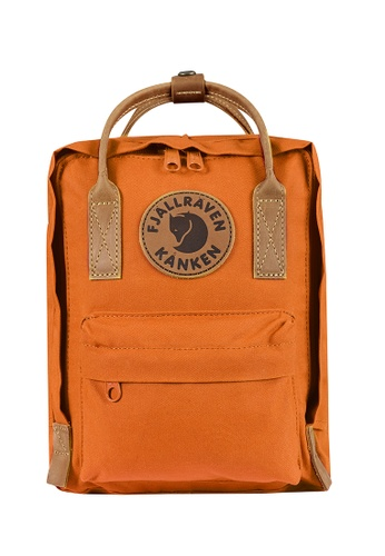 Fjallraven Kanken orange Seashell Orange Kanken No.2 Mini Backpack 2A454AC93BE373GS_1