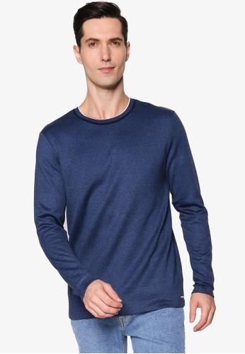 BOSS blue Thias T-Shirt 15963AA60B4E0EGS_1