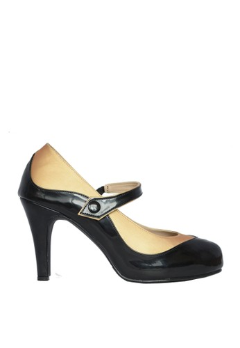 CAROL BRENNER black CAROL BRENNER PUPY GOLD (LADIES PUMP SHOES) 386D9SHBE00399GS_1