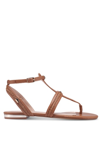 ALDO brown Fiema Sandals E416FSHD733F57GS_1