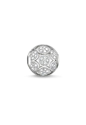 """THOMAS SABO silver Bead """"Sparkling Circles"""" 8C82CAC2BCB26BGS_1"""