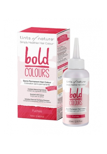 Tints of Nature Tints of Nature Bold Colours Semi-Permanent Color Dye 70ml (Fuchsia) CA722BE3B931BDGS_1