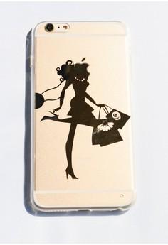 Love Shopping Soft Transparent Case for iPhone 6 plus/ 6s plus